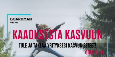 KAAOKSESTA KASVUUN OULU 3.10.