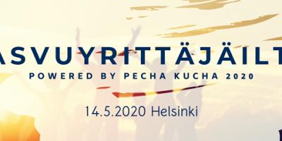 KASVUYRITTÄJÄILTA POWERED BY PECHA KUCHA 2020