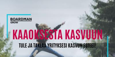 KAAOKSESTA KASVUUN DIGISPARRAUS 2.9. KLO 8.30-11.00