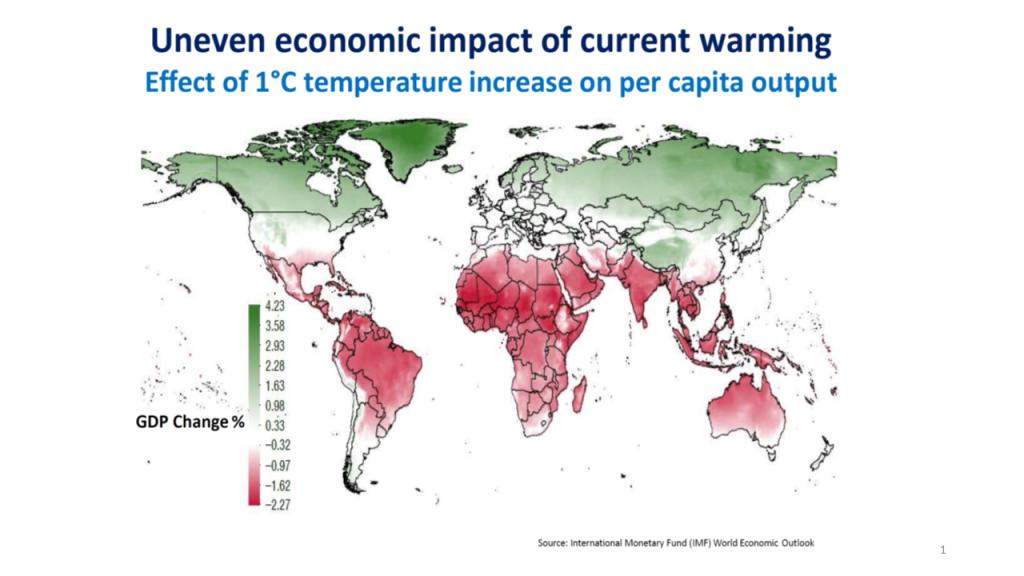 Ilmastonmuutoksen vaikutukset lämpötilavaihteluihin ympäri maapalloa