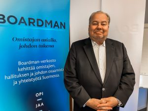 Boardman-partneri Kim Karhu